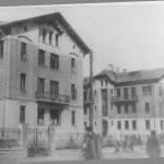 Вид новых многоквартирных домов для рабочих, Гомель 1930